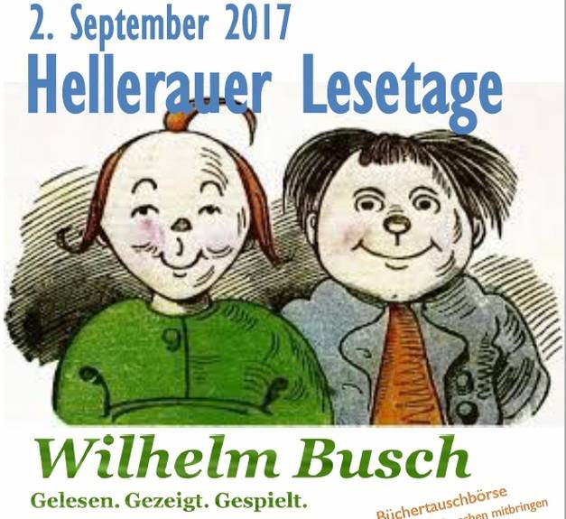 Hellerauer Lesetage Wilhelm Busch