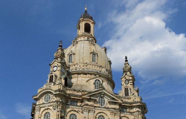 Kuppel der Frauenkirche Dresden (c) EMOD