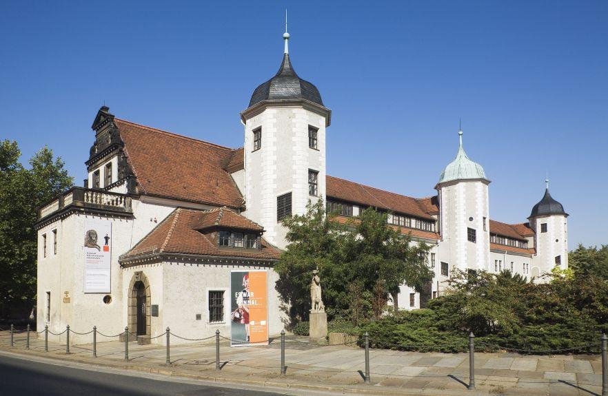 Der Jägerhof beinhaltet das Sächssiche Museum für Voklskunst Foto Davod Brandt (c) SKD