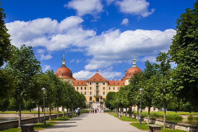 Schloss Moritzburg Foto: Dittrich (c) schloesserland-sachsen.de