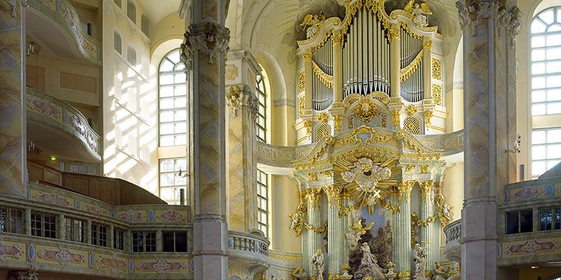 Innenraum (c) Frauenkirche Dresden