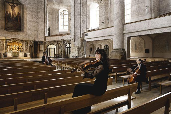 Dresdner Philharmonie in der Kreuzkirche (c) Nikolaj Lund