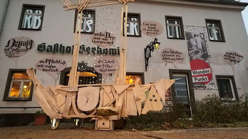 Lügenmuseum im Gasthof Serkowitz