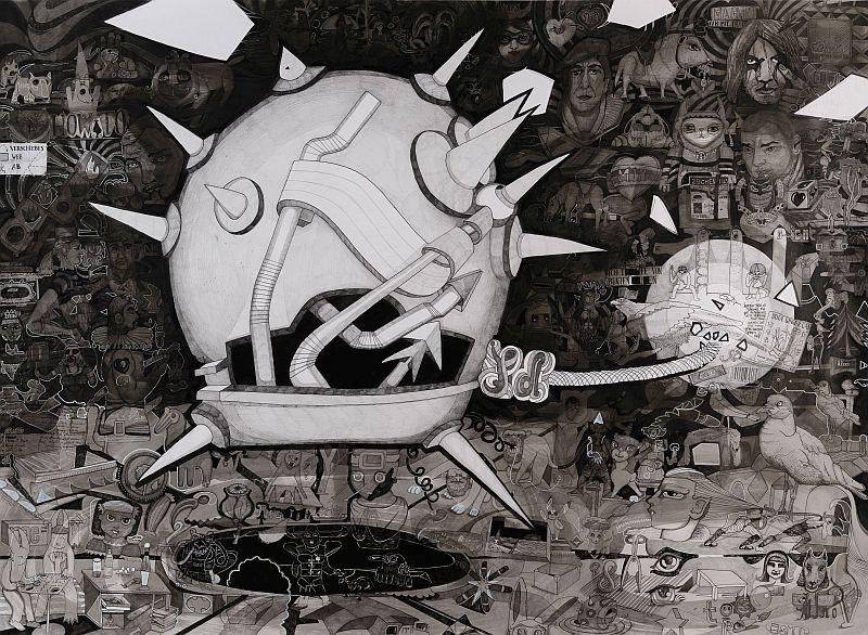 Constanze Deutsch, Horror Vacui, 2017 Foto Städtische Galerie Dresden, Philipp W. L. Günther