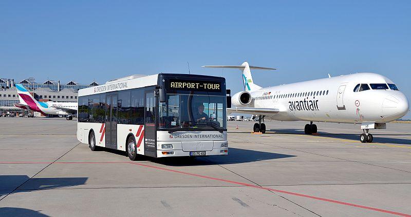 Vorfeld (c) Flughafen Dresden