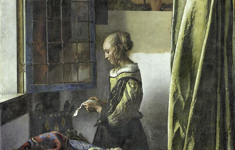 Vermeer Brieflesendes Mädchen © Gemäldegalerie Alte Meister, SKD, Foto Wolfgang Kreische