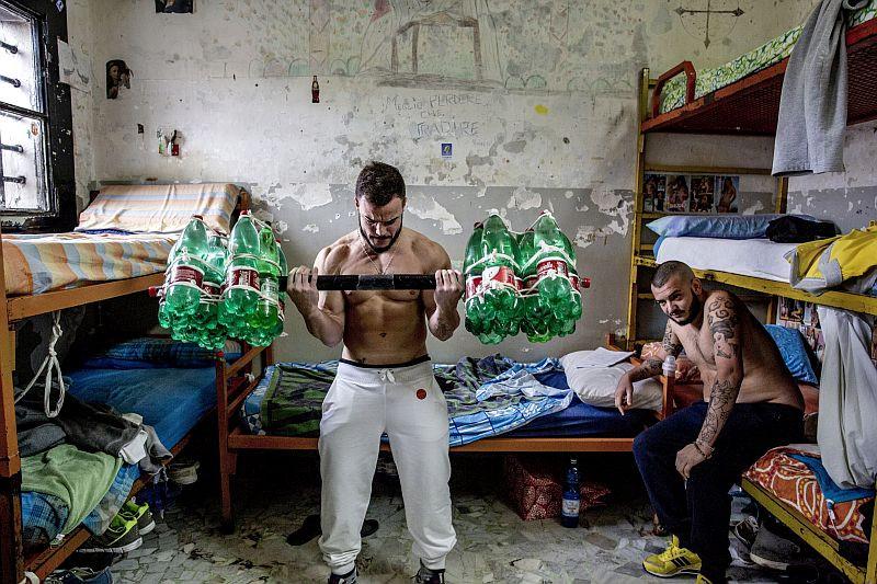 Gefängnis von Poggioreale 2015, Neapel, Italien Fotografie © Valerio Bispuri