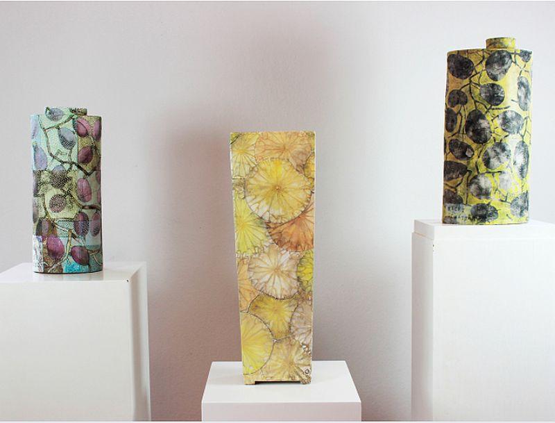 Keramik: Ute Naue-Müller Foto2: Kunstausstellung Kühl
