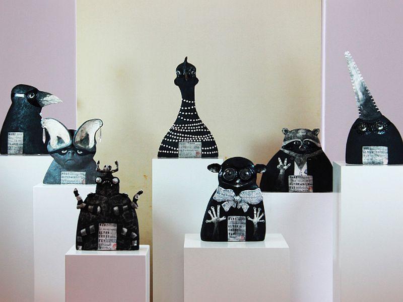 Keramik: Ute Naue-Müller Foto3: Kunstausstellung Kühl