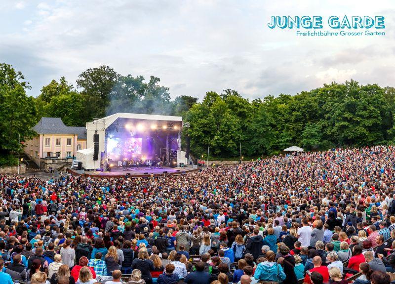 Freilichtbühne Junge Grade Dresden (c) Aust Kulturmanagement